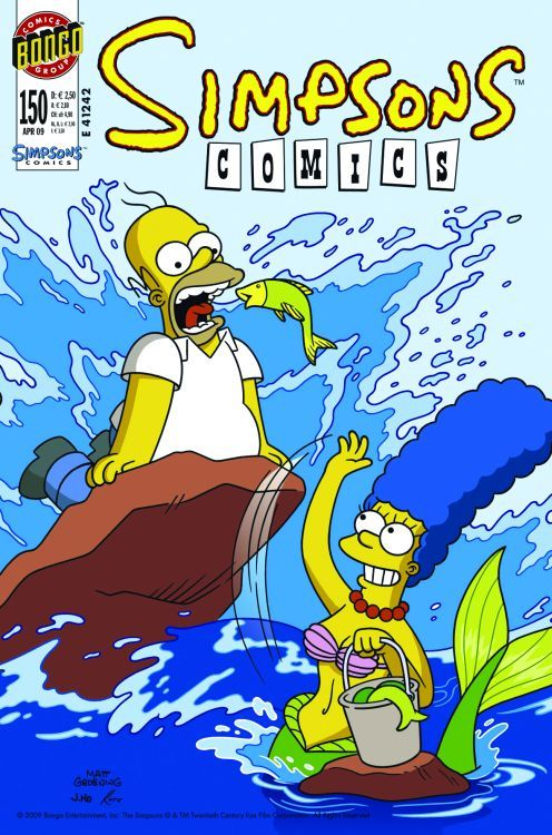 Simpsons Comic Nr. 150