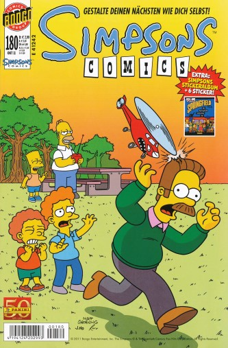 Simpsons Comic Nr. 180