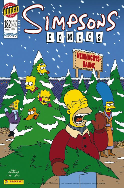 Simpsons Comic Nr. 182
