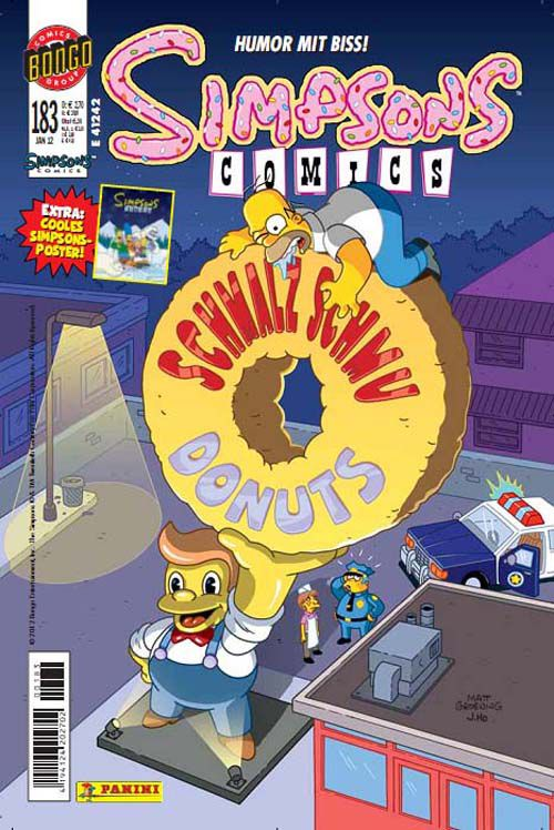 Simpsons Comic Nr. 183