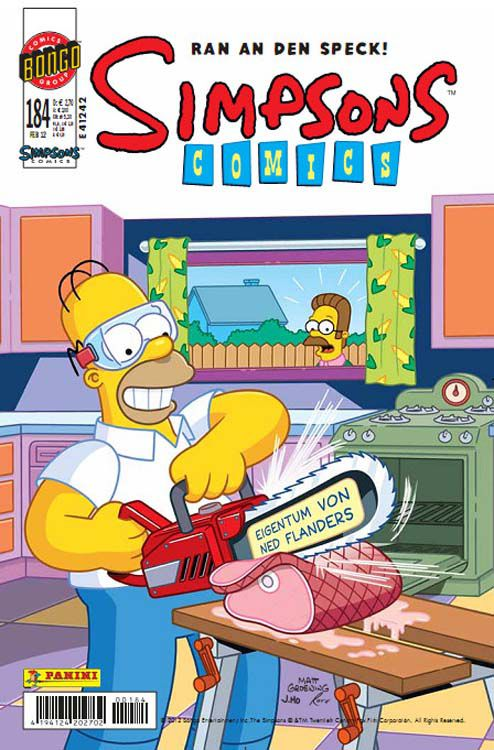 Simpsons Comic Nr. 184