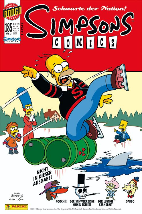 Simpsons Comic Nr. 185