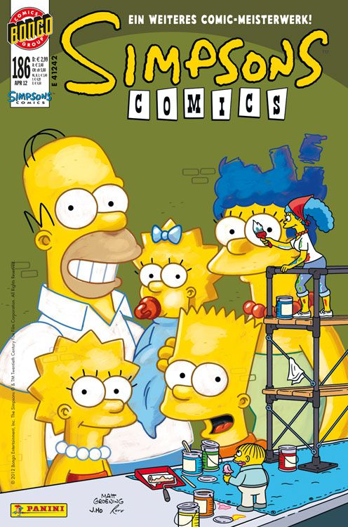 Simpsons Comic Nr. 186