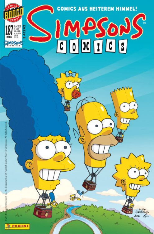 Simpsons Comic Nr. 187