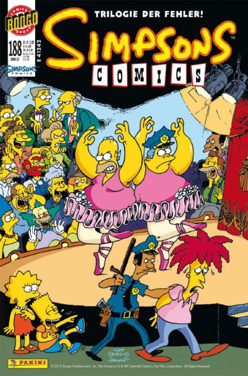 Simpsons Comic Nr. 188