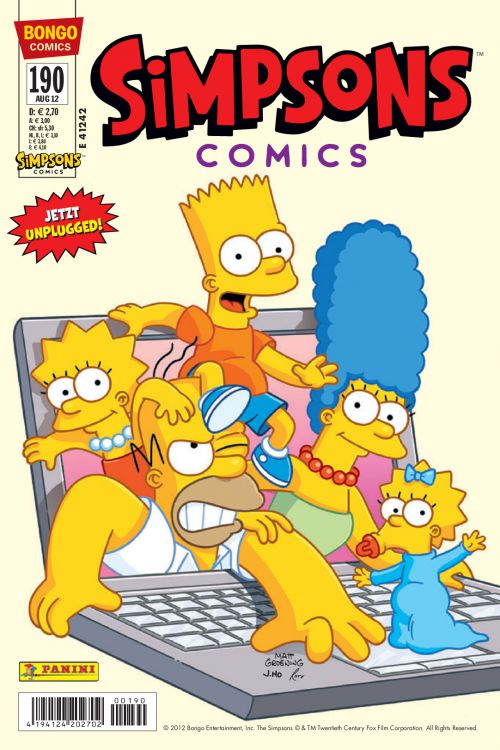 Simpsons Comic Nr. 190