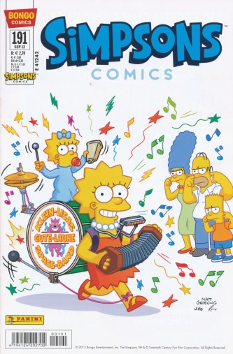 Simpsons Comic Nr. 191