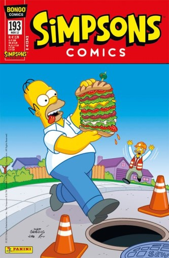 Simpsons Comic Nr. 193