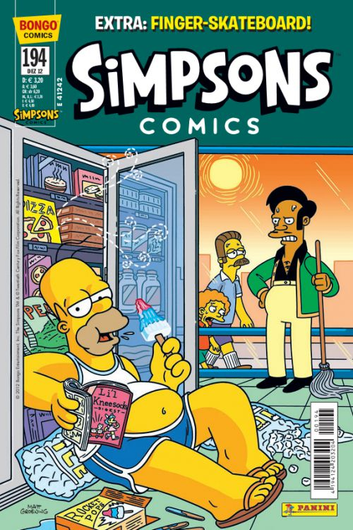 Simpsons Comic Nr. 194