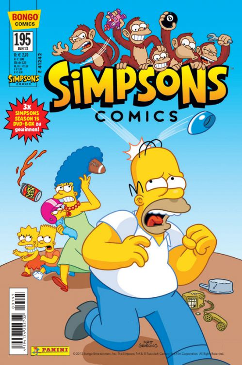 Simpsons Comic Nr. 195