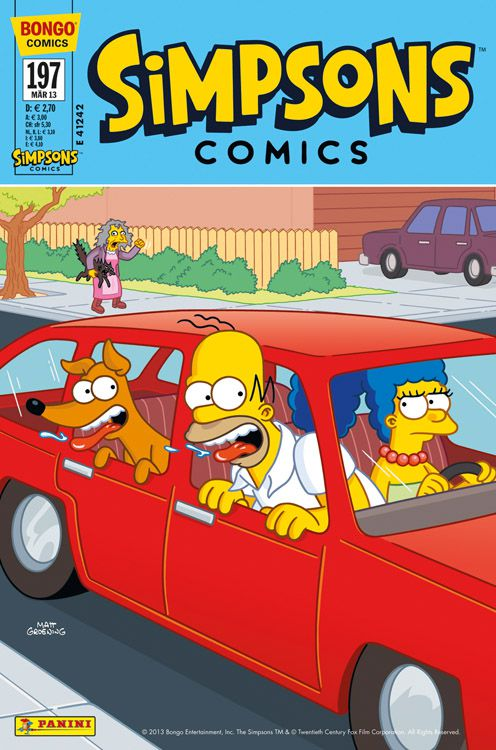 Simpsons Comic Nr. 197