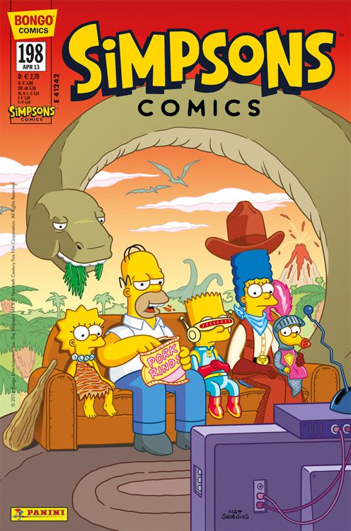 Simpsons Comic Nr. 198