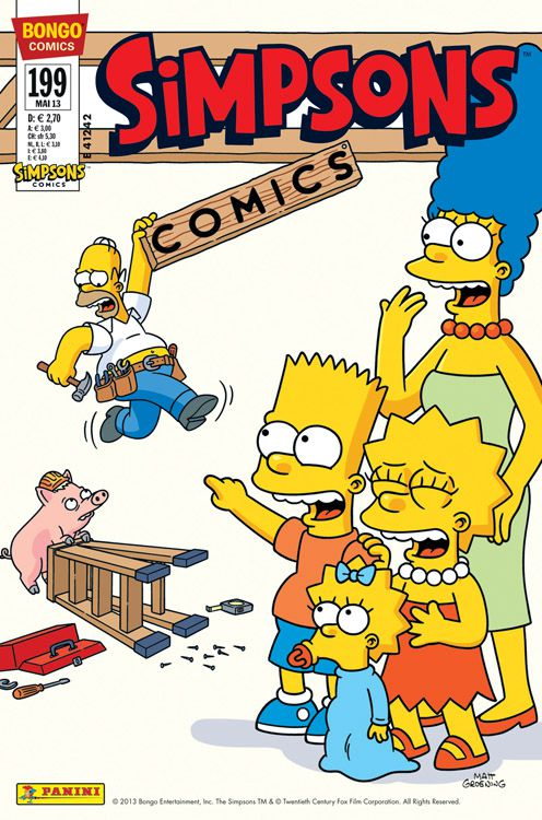 Simpsons Comic Nr. 199