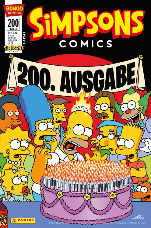 Simpsons Comic Nr. 200