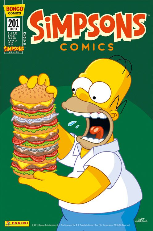 Simpsons Comic Nr. 201