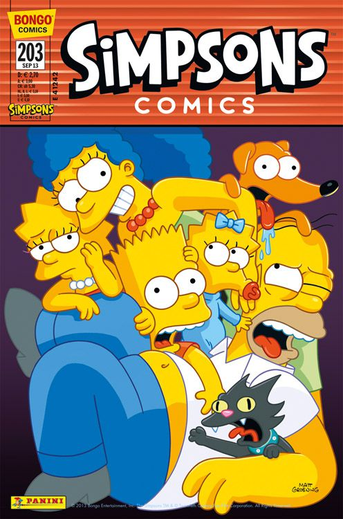 Simpsons Comic Nr. 203