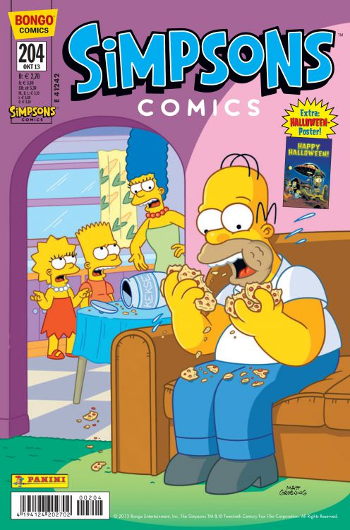 Simpsons Comic Nr. 204