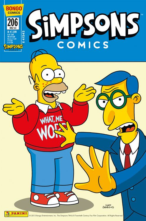 Simpsons Comic Nr. 206