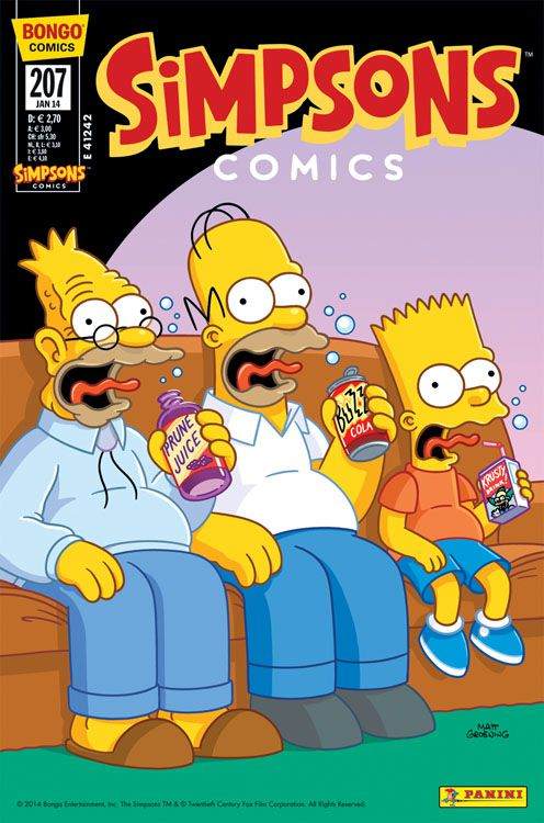 Simpsons Comic Nr. 207