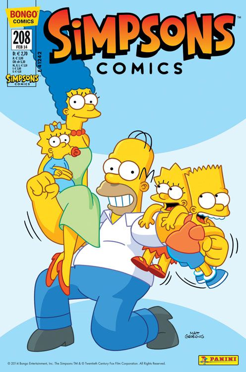 Simpsons Comic Nr. 208