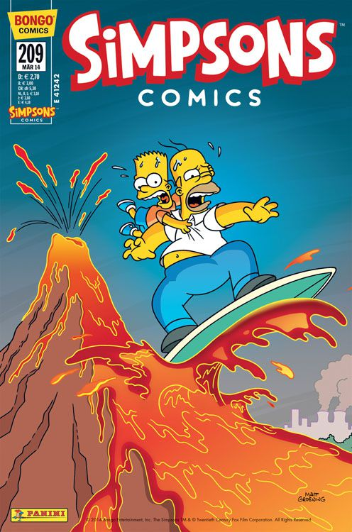 Simpsons Comic Nr. 209