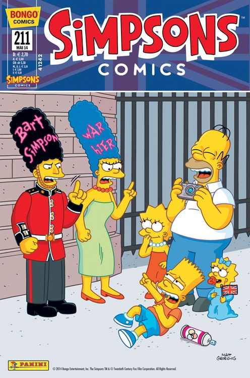 Simpsons Comic Nr. 211
