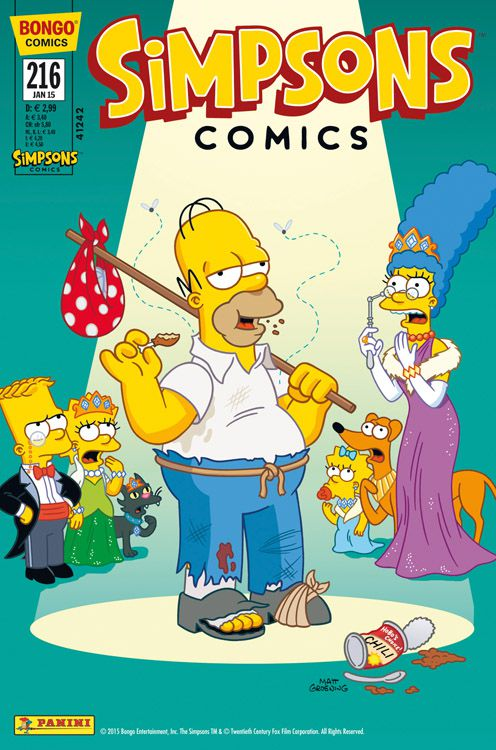 Simpsons Comic Nr. 216