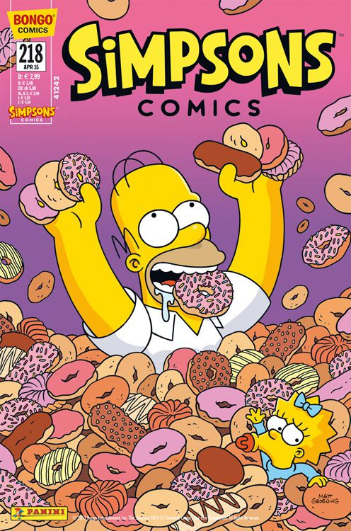 Simpsons Comic Nr. 218