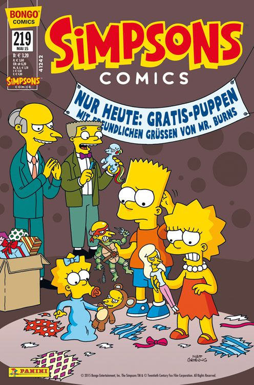 Simpsons Comic Nr. 219
