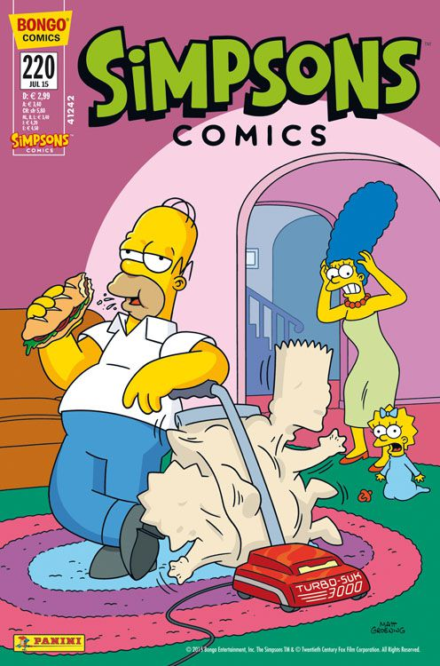 Simpsons Comic Nr. 220