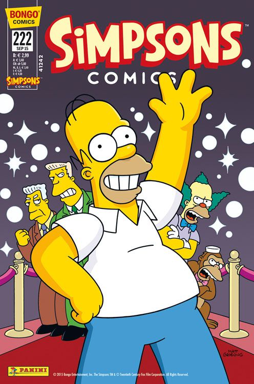 Simpsons Comic Nr. 222