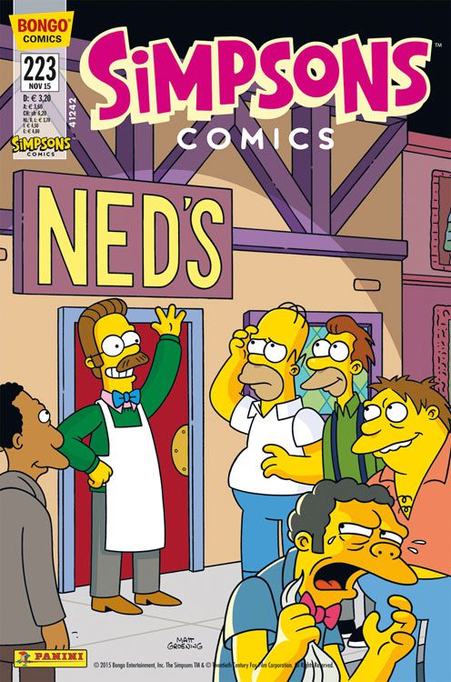 Simpsons Comic Nr. 223