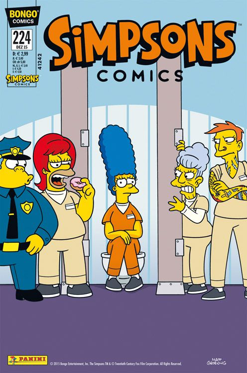 Simpsons Comic Nr. 224