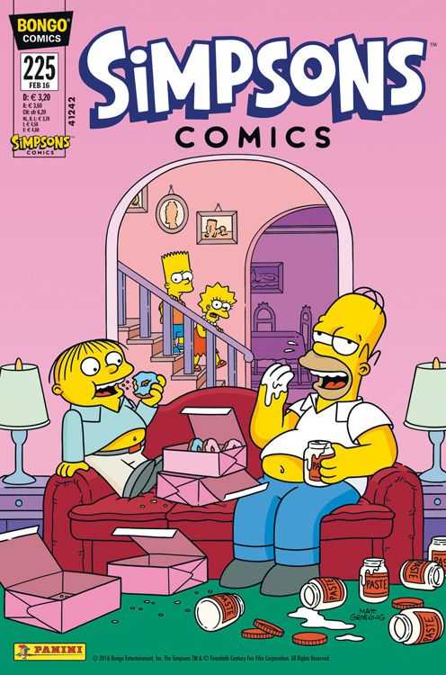 Simpsons Comic Nr. 225