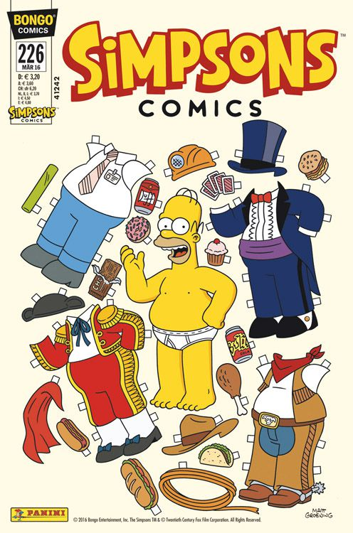 Simpsons Comic Nr. 226