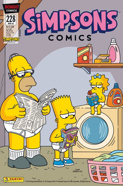 Simpsons Comic Nr. 228