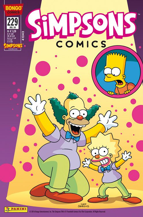 Simpsons Comic Nr. 229