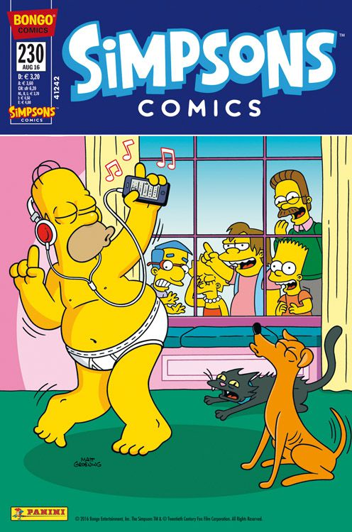 Simpsons Comic Nr. 230