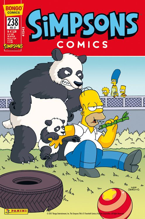 Simpsons Comic Nr. 238