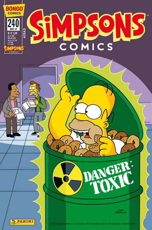 Simpsons Comic Nr. 240