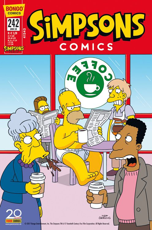 Simpsons Comic Nr. 242