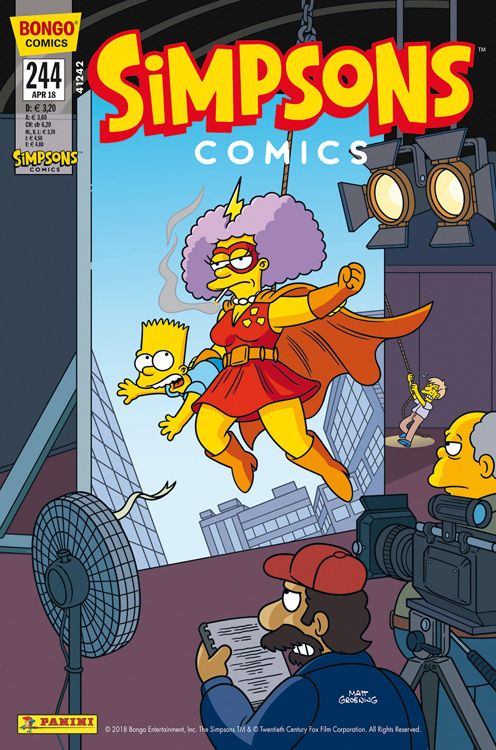 Simpsons Comic Nr. 244