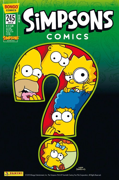 Simpsons Comic Nr. 245