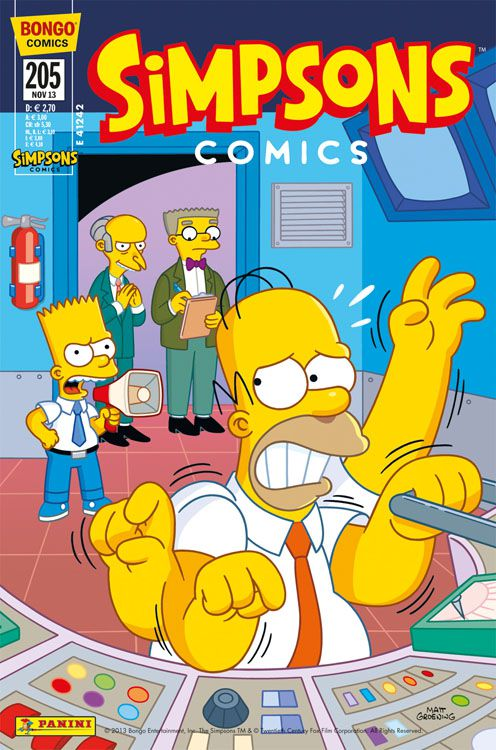 Simpsons Comic Nr. 205