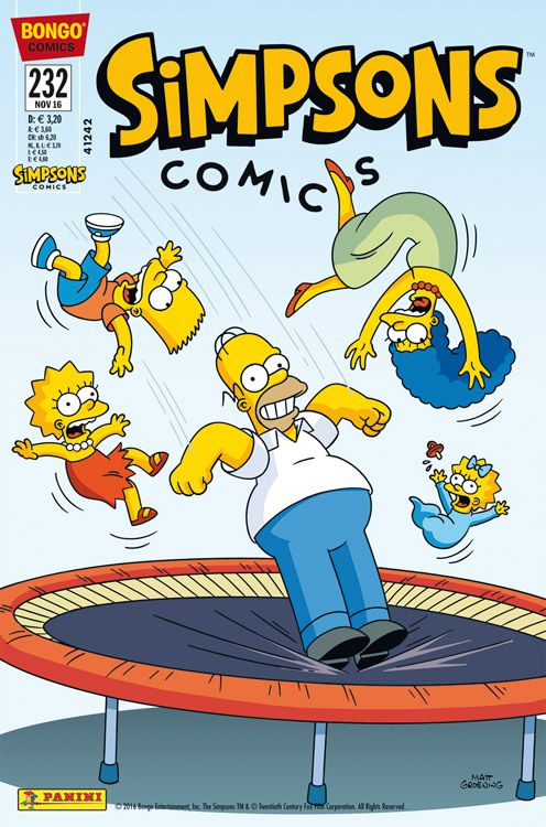 Simpsons Comic Nr. 232