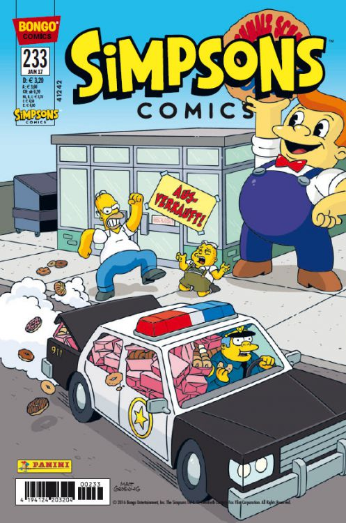 Simpsons Comic Nr. 233