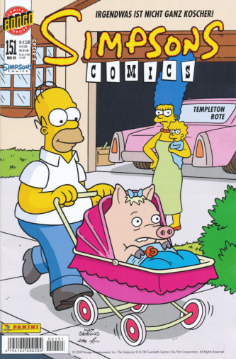 Simpsons Comic Nr. 151