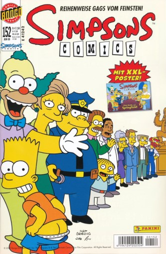 Simpsons Comic Nr. 152