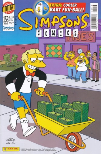 Simpsons Comic Nr. 153