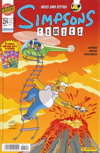 Simpsons Comic Nr. 154